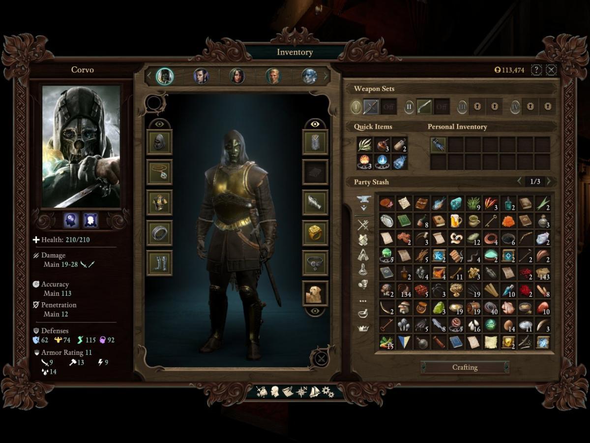 CLASS BUILD] Dishonored Mindstalker - Pillars of Eternity II