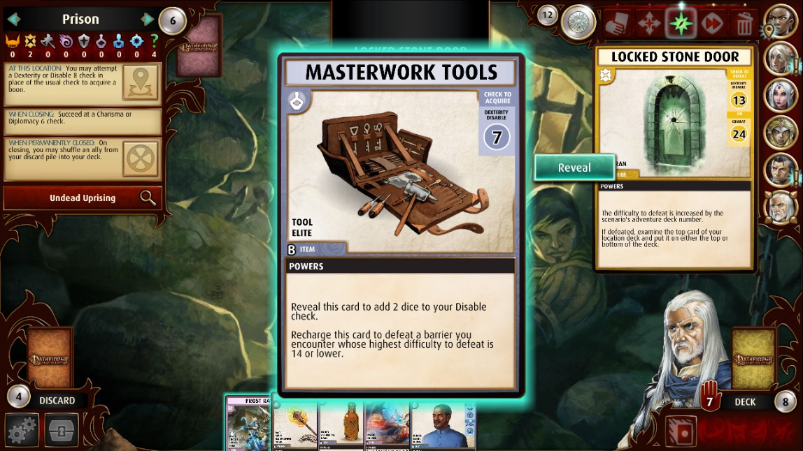 Masterwork tools powers - Pathfinder Adventures: General Discussion