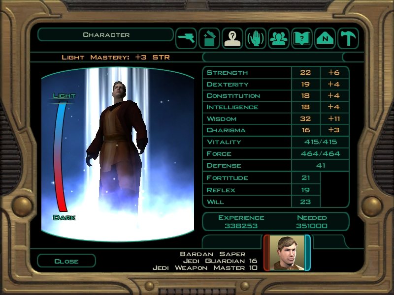 Consular Build - Star Wars: General Discussion - Obsidian Forum