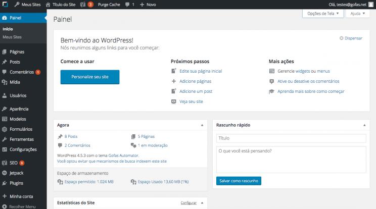 dashboard-inicio-painel-wordpress