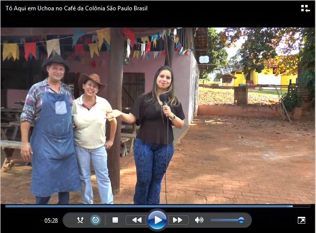 Tô Aqui em Uchoa no Café da Colônia