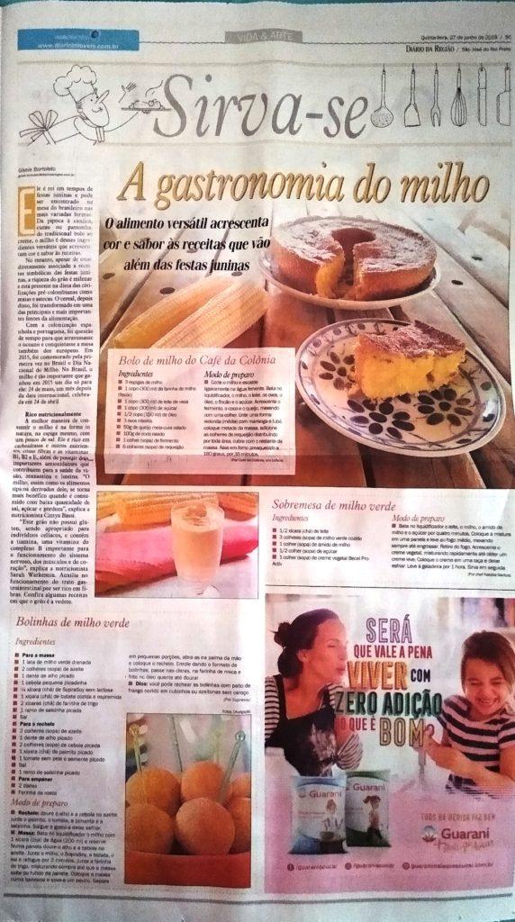 BOLO DE MILHO DO CAFÉ DA COLÔNIA