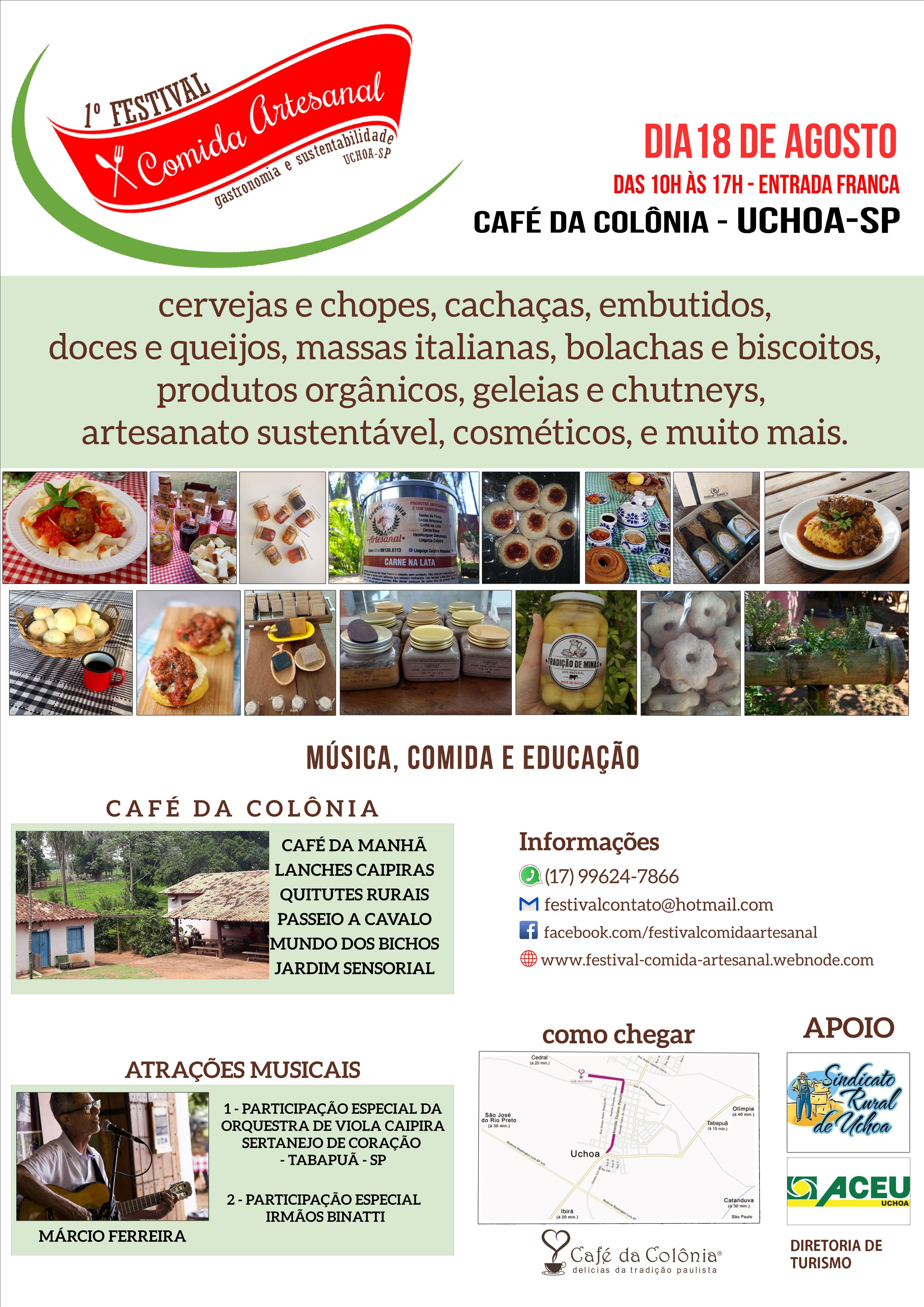 Festival de comida artesanal e sustentabilidade