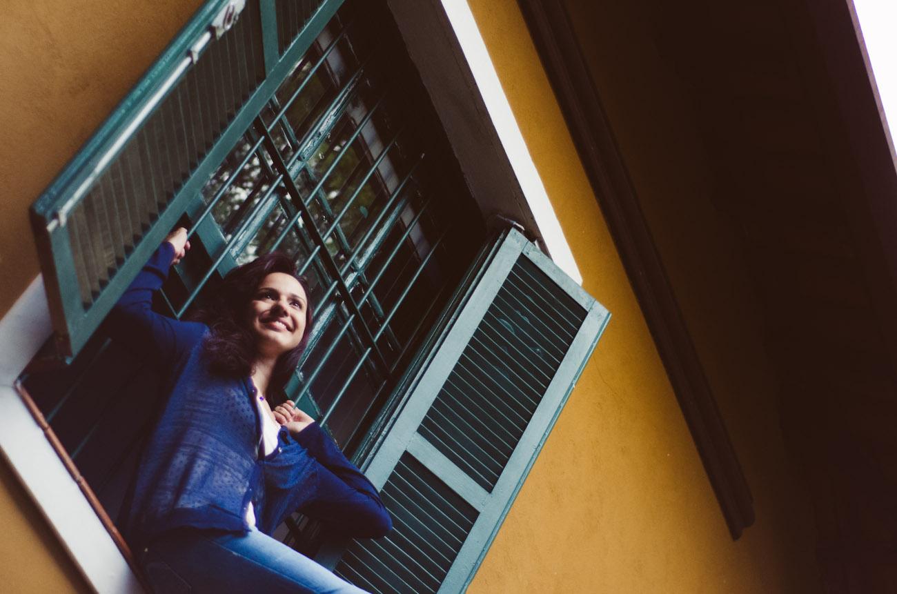 Ensaio fotográfico da fotógrafa Fabiana Céllio, realizado no Hostel Viramondo, pela fotógrafa Daniela Seco