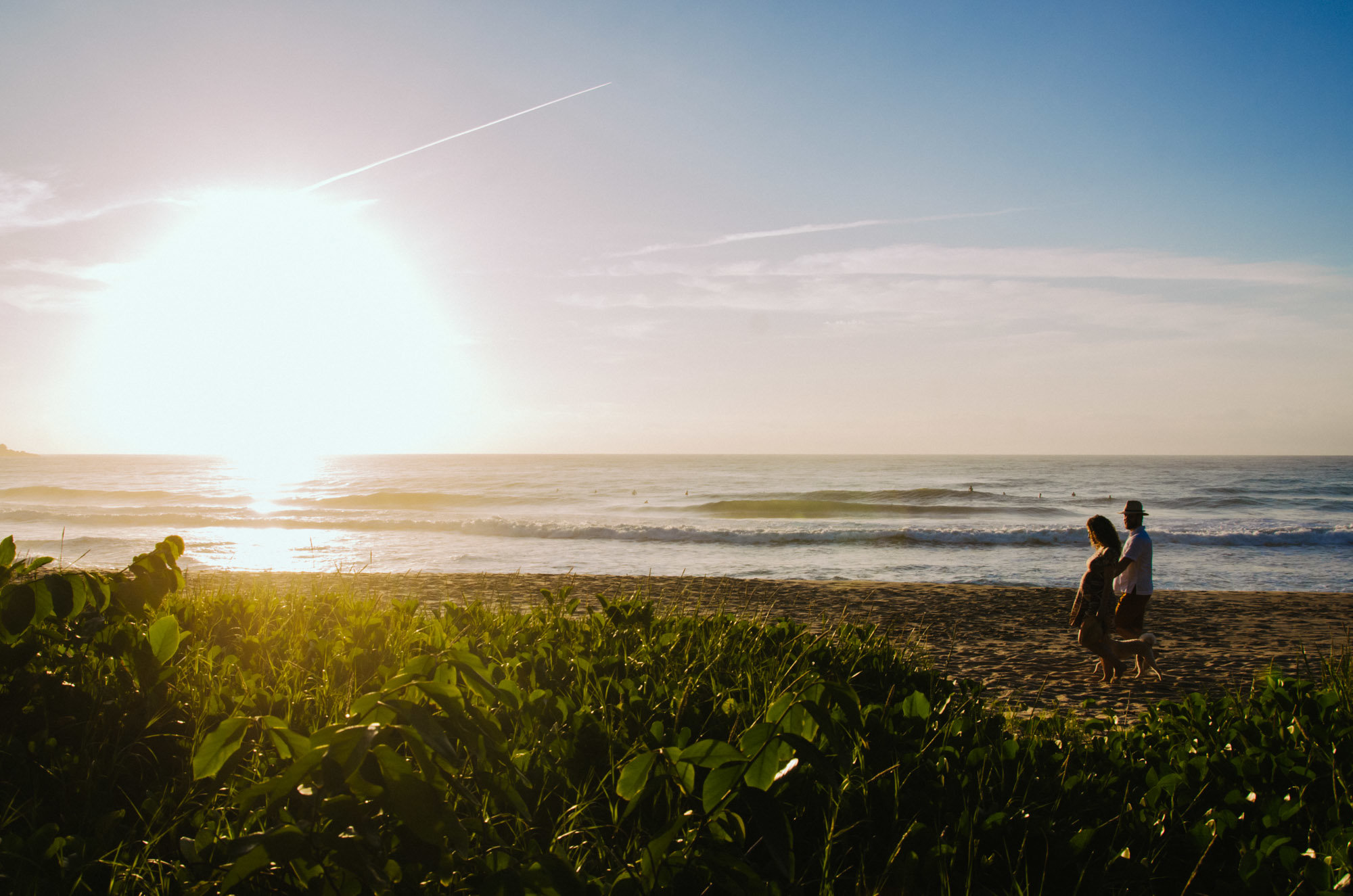 sessão de fotos na praia