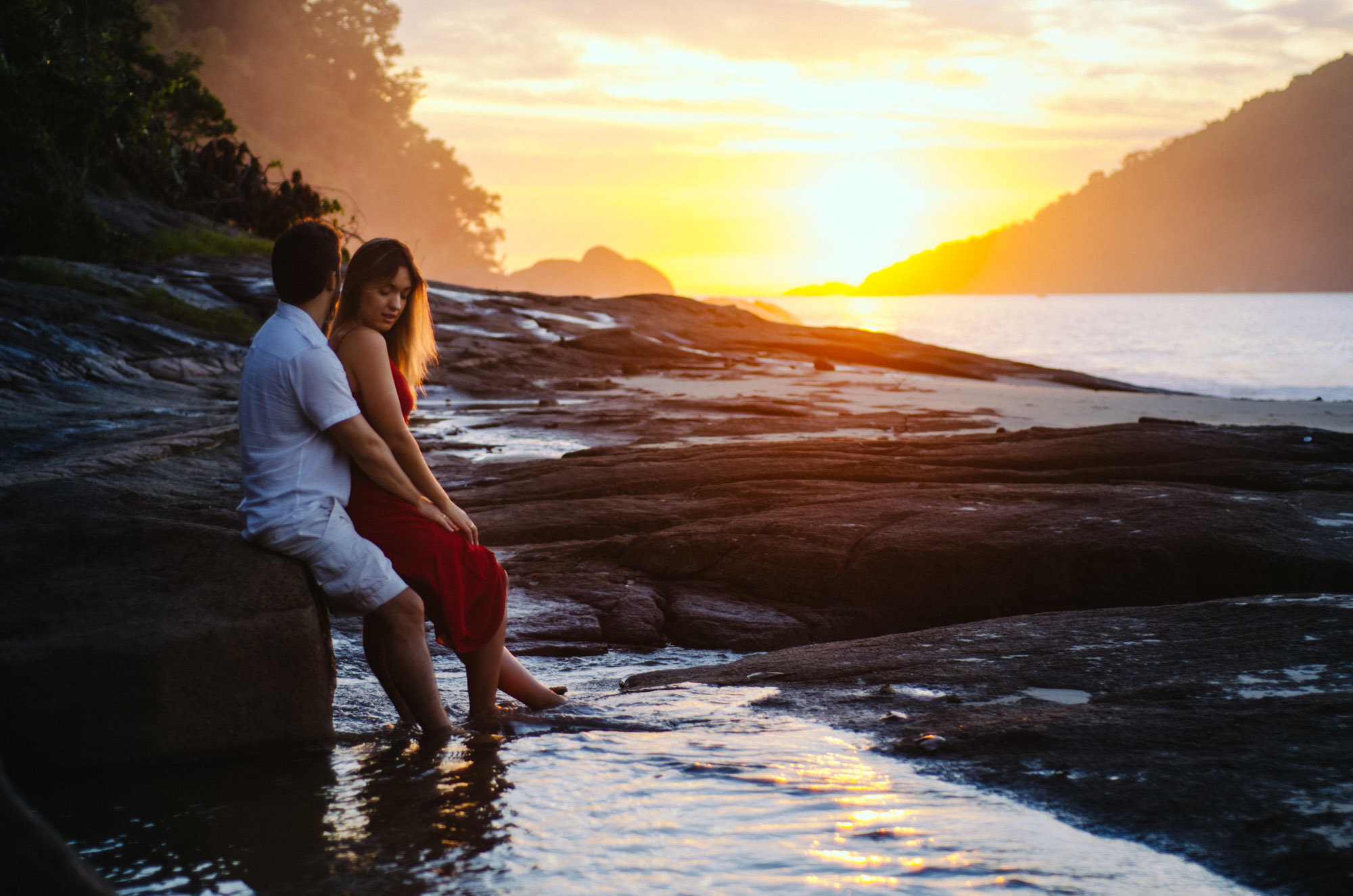 foto de pré-casamento ubatuba