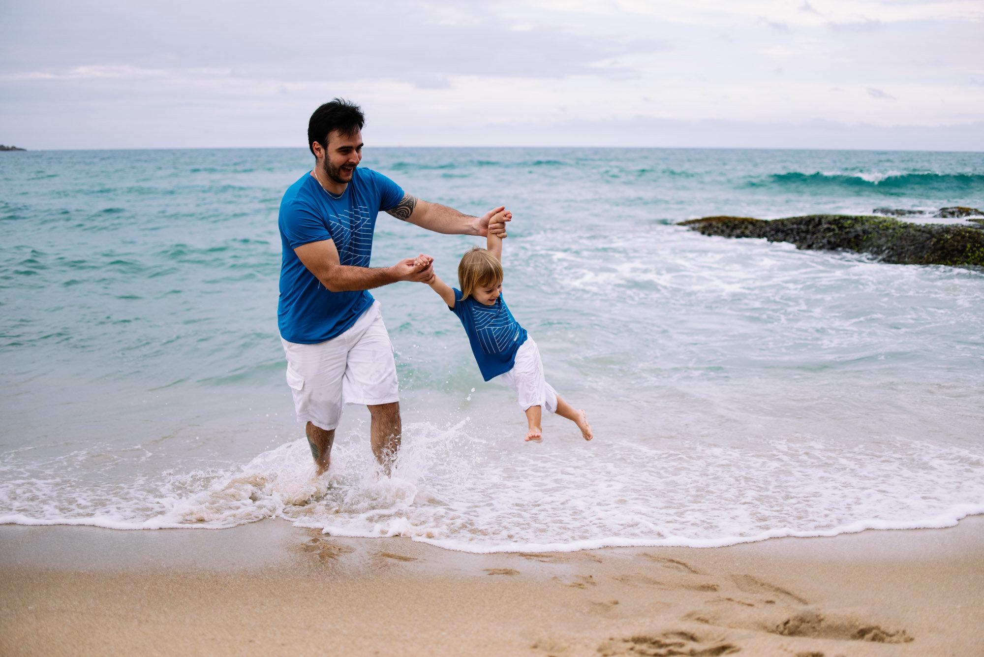 brincadeira com papai