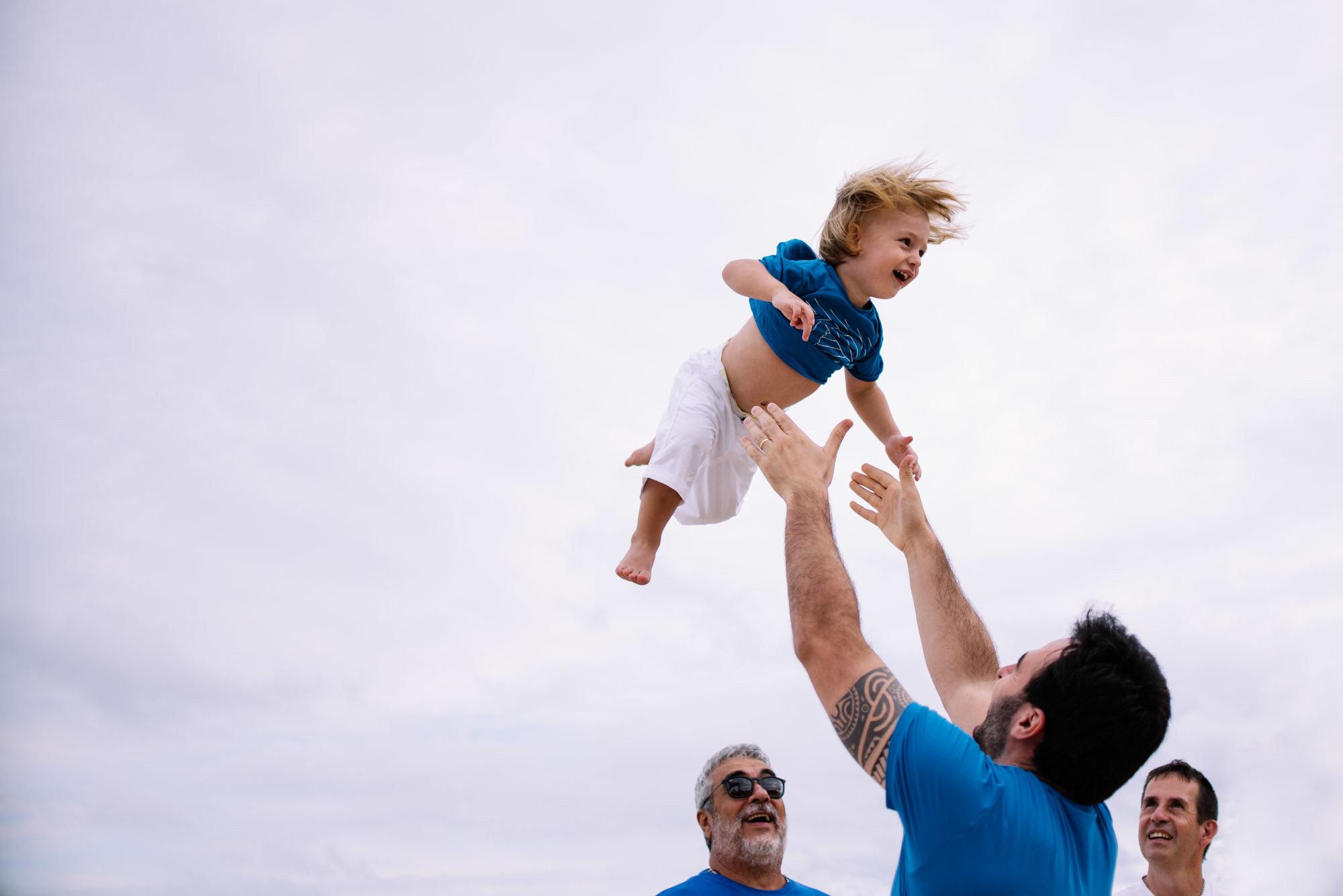 brincar com papai