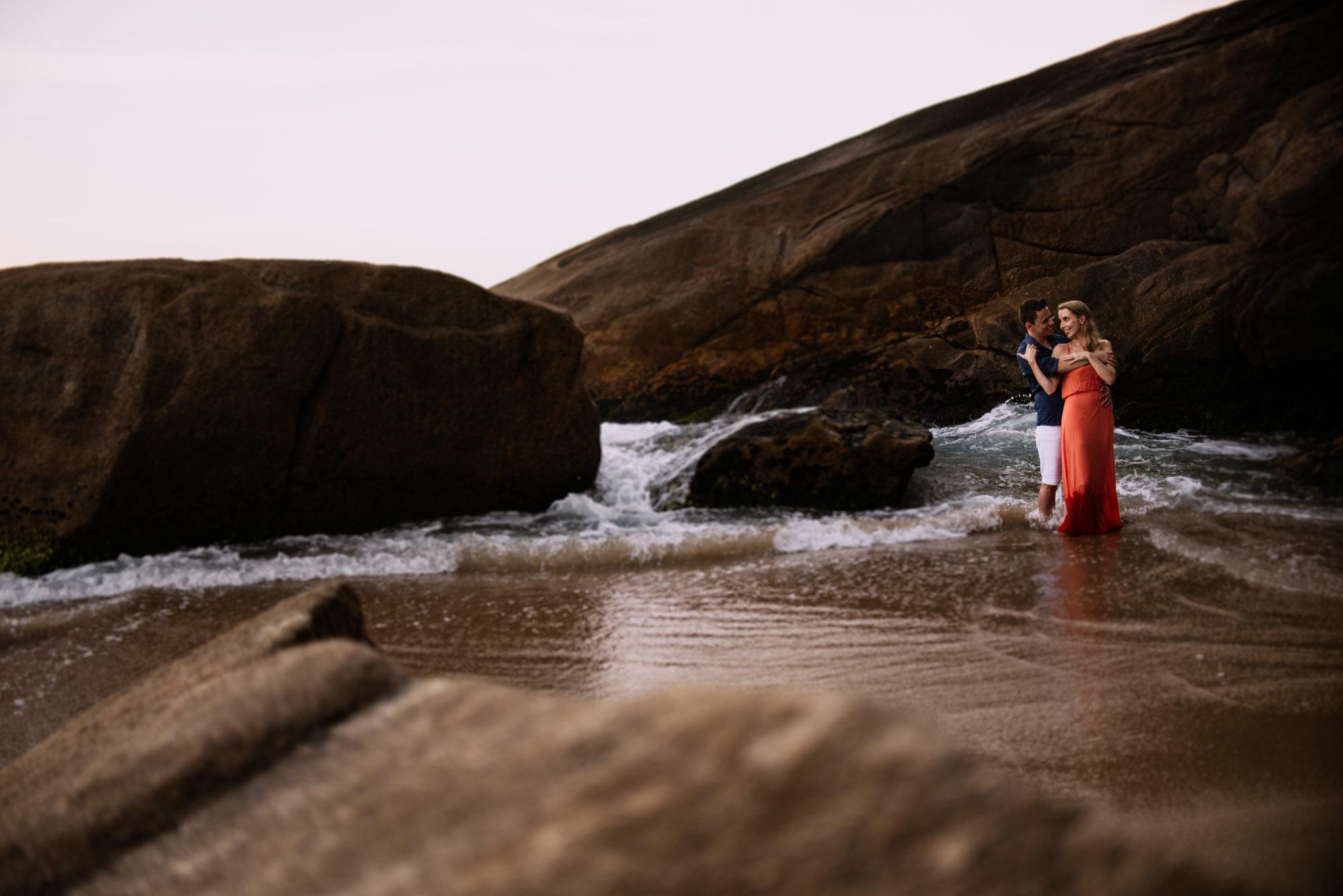 pedido de casamento pé na areia