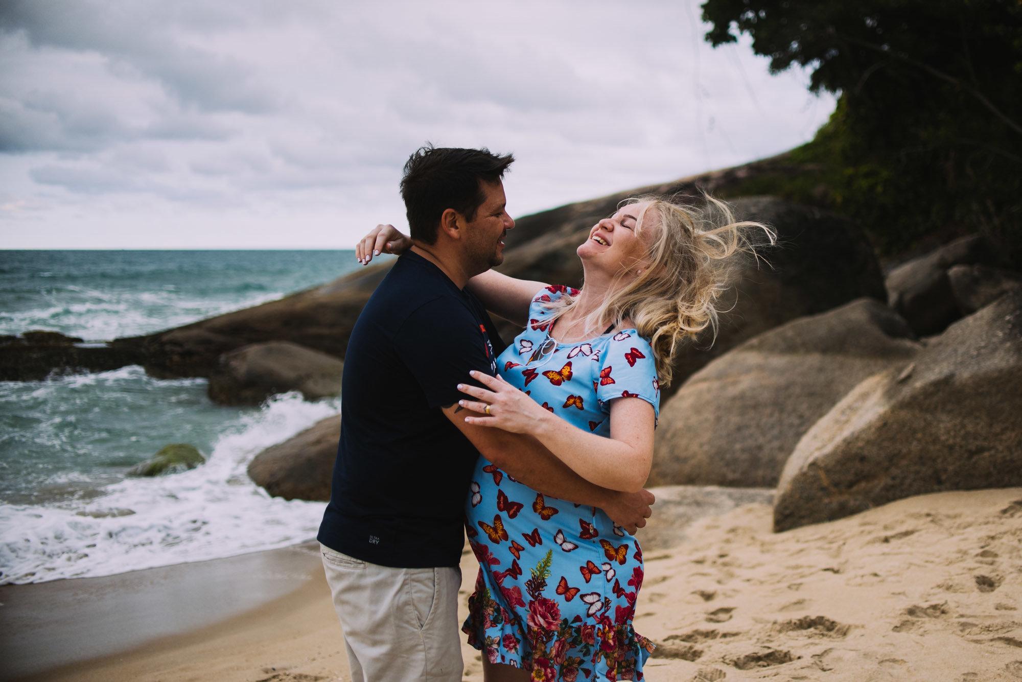 melhores fotos de grávida na praia