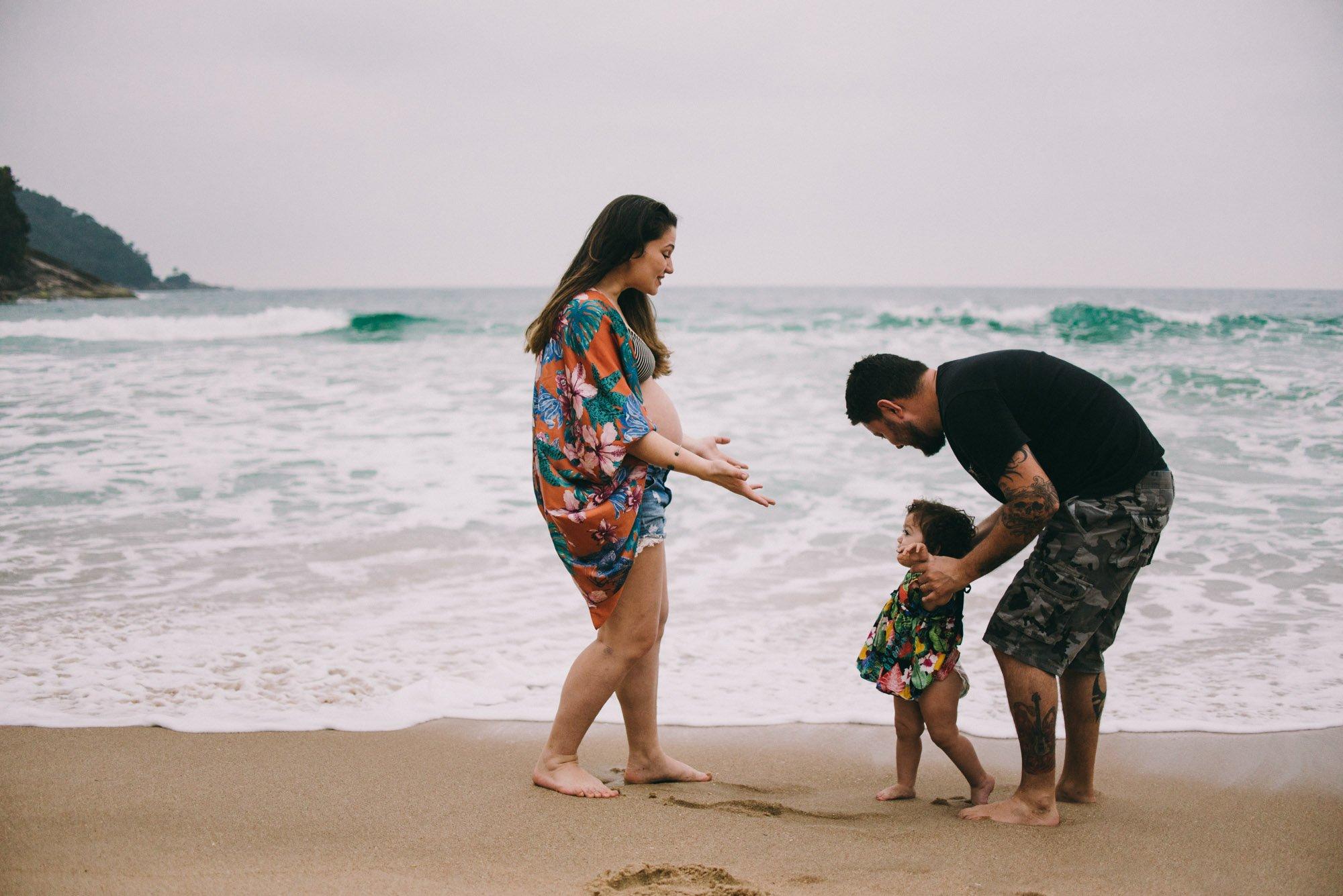 família linda em ubatuba