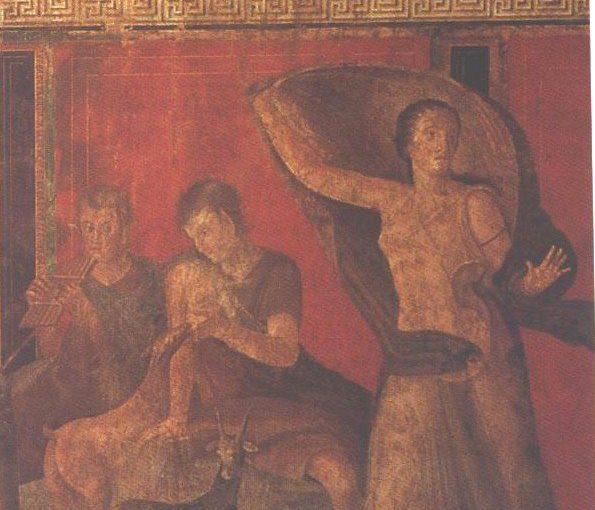 PINTURA – RELEITURA DOS AFRESCOS DA VILLA DOS MISTERIOS DE POMPÉIA