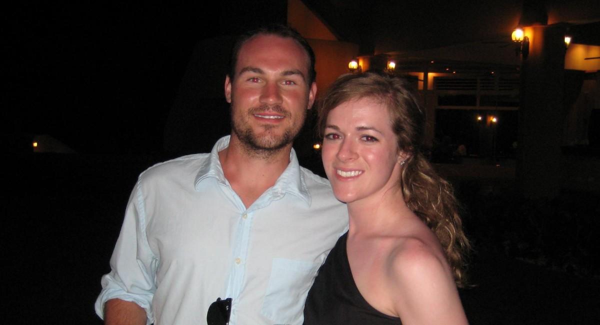 Julia Diane Hill and Ian Matthew Rodway