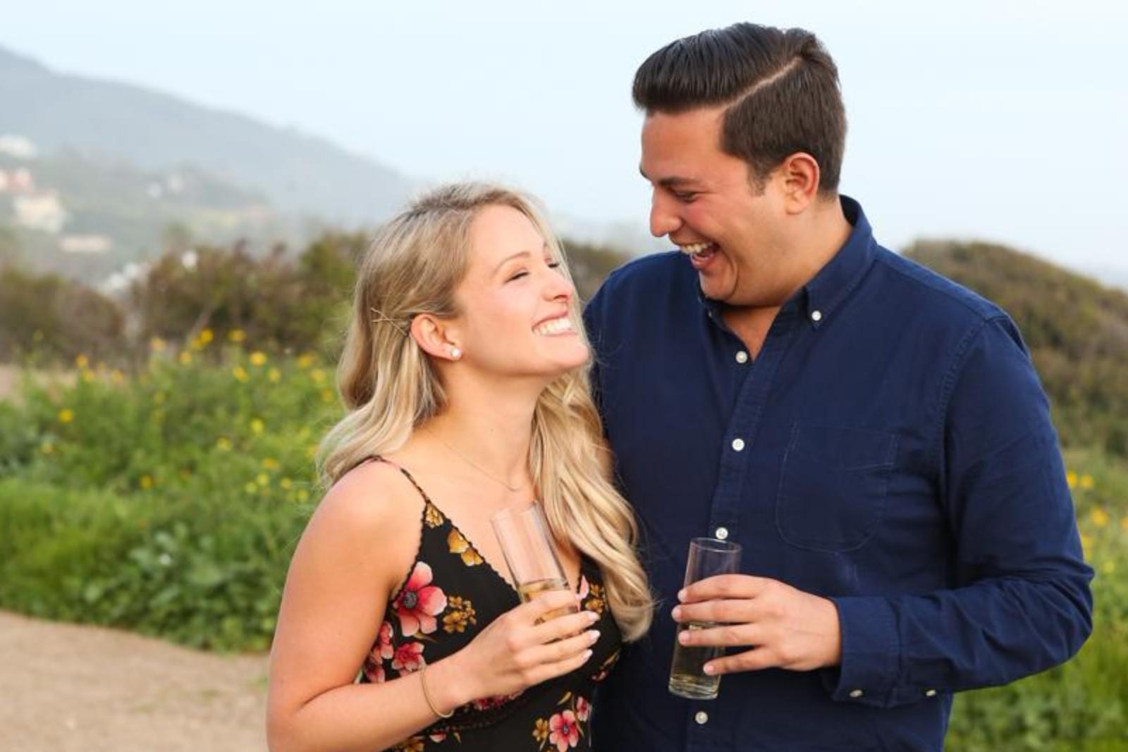 Sarah Friedman and Daniel Furlong