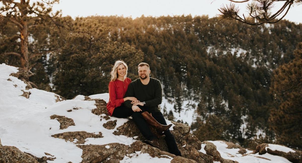 Jane and Chris