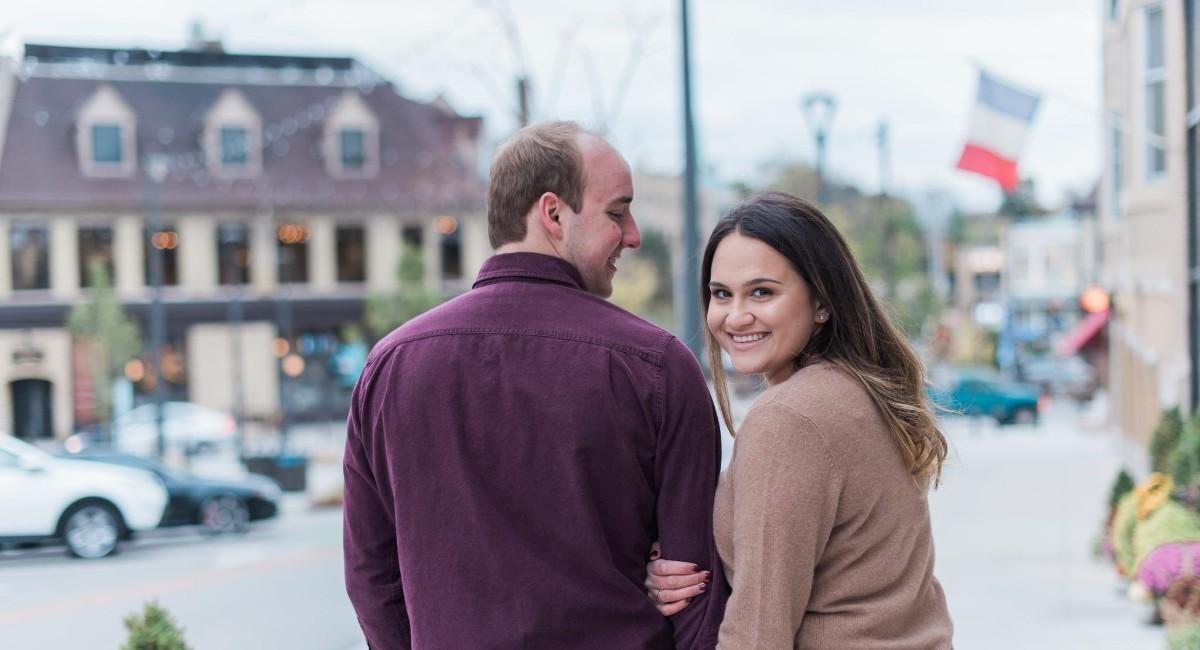 Francesca and Grant