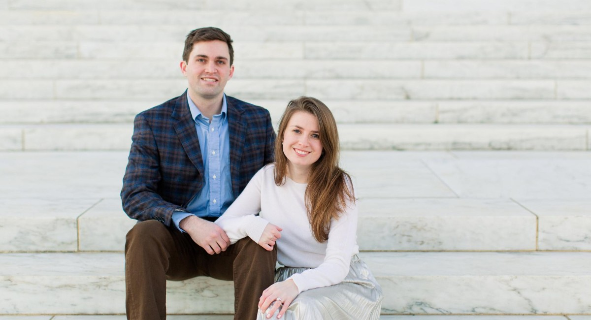 Megan Fricke and Will Douthat