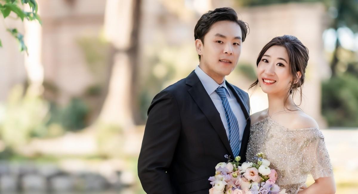 Lauren Lee and Lucas Yeung