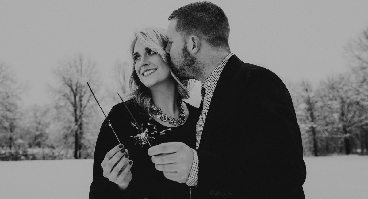 Lauren Thiel and Nick Payne
