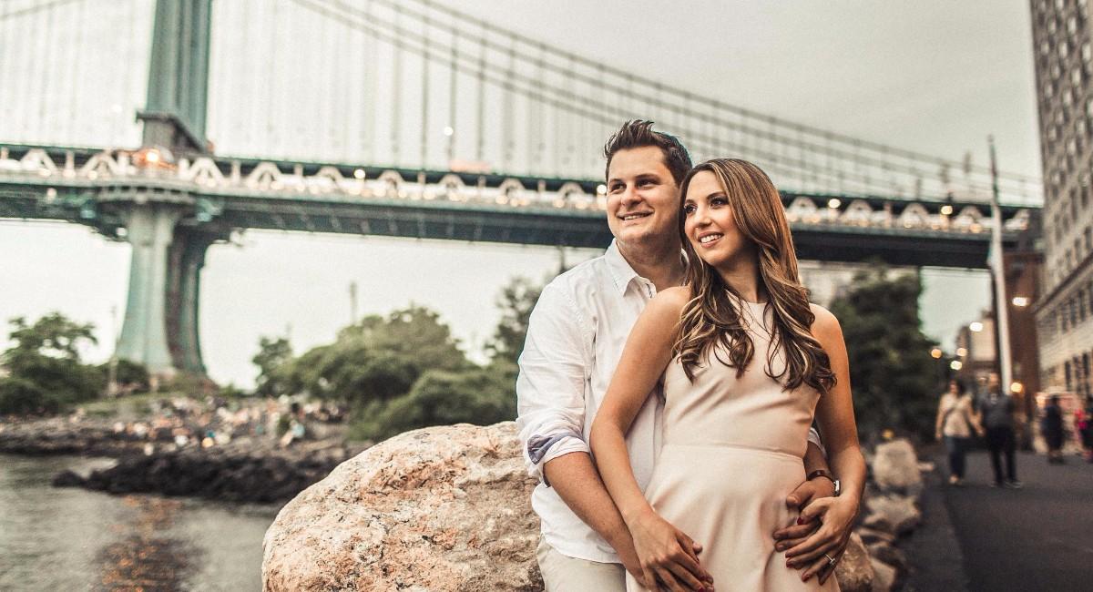 Amanda Bilello and Tyler Van Buren