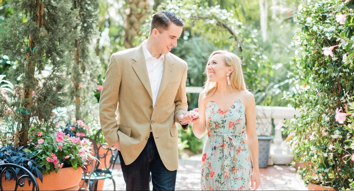 Brittany Hearon and Marshall Wade