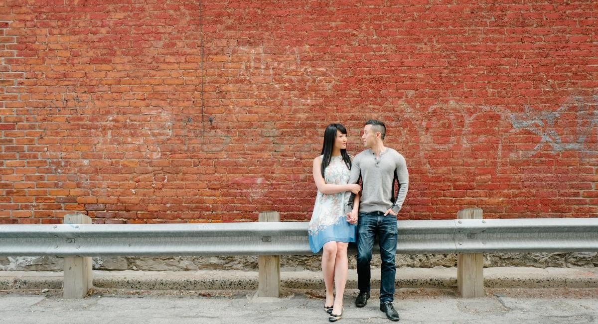 Anna Chen and Eric Choi