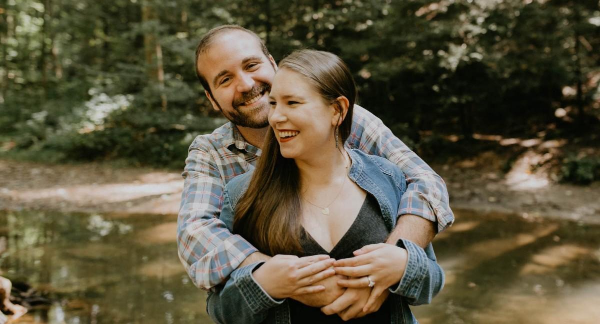 Kristen Kowalski and John Herbster