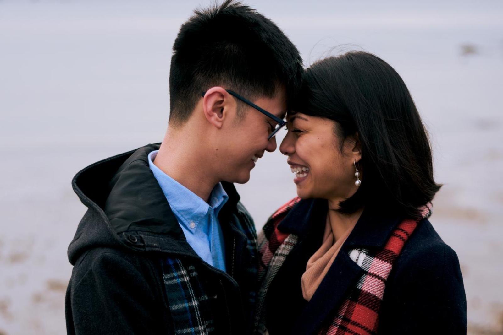 Michael Lam and Nikki Mendoza