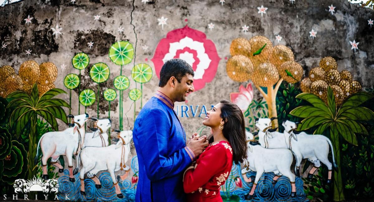 Pranav Reddy and Archana Chintalapani