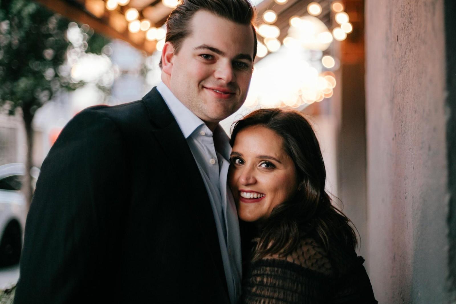 Grace Kennedy and Cameron Wallin