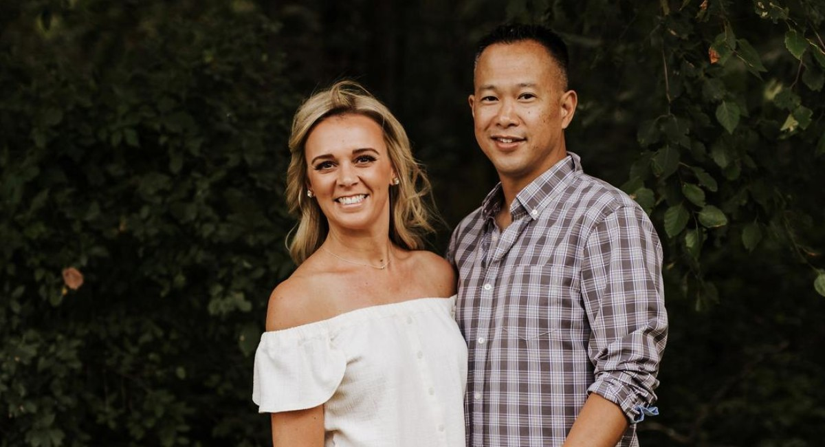 Bridget Kimker and Ken Loh