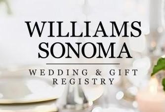 Williams Sonoma Wedding Registry.Abigail Peter Minted