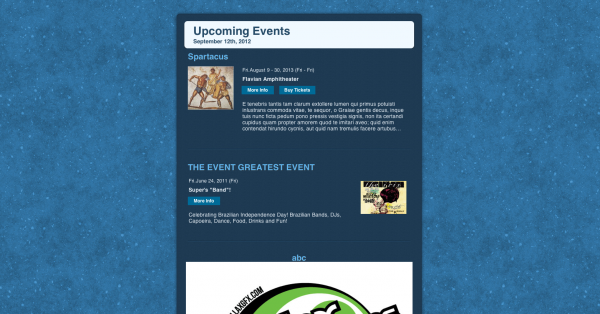 Event Messaging & Newsletters