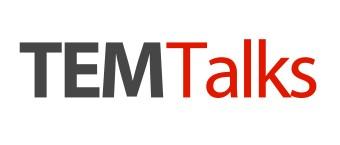 Logotipo do TEM Talks, grupo com o qual a Hotmart conversou como como gerar tráfego