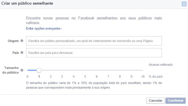 Facebook Público Semelhante