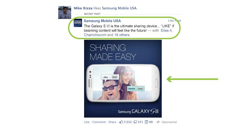 Anúncio Facebook