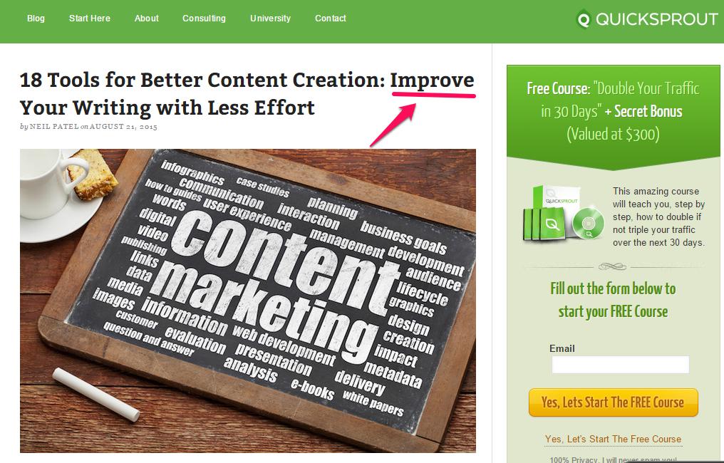 18 ferramentas para melhorar a criação de conteúdo – aperfeiçoe seu texto com menos esforço
