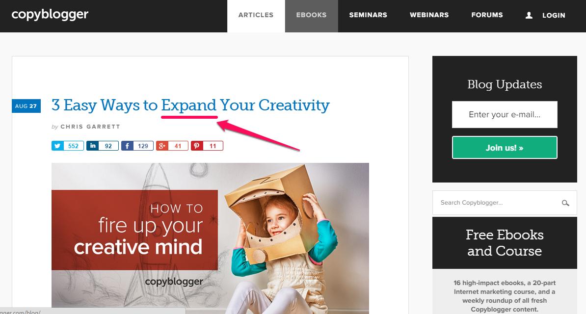 3 formas fáceis de expandir sua criatividade