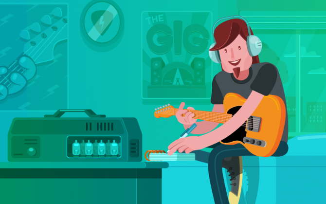 ways for guitarist to make money on the side