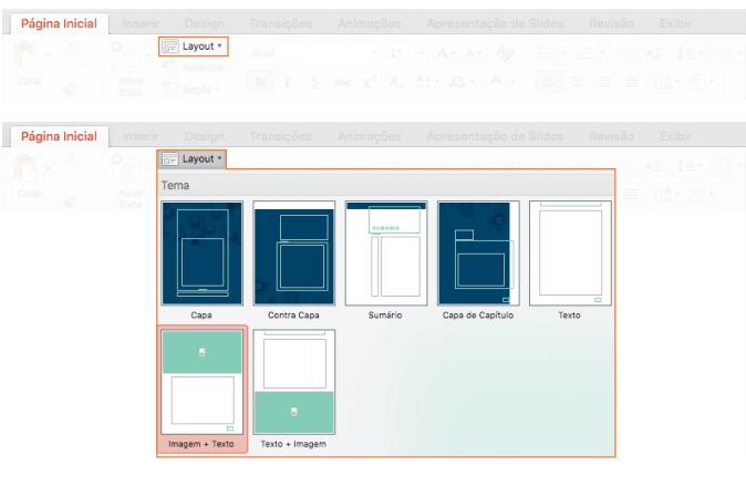 Passo para criar um ebook com os templates do Power Point
