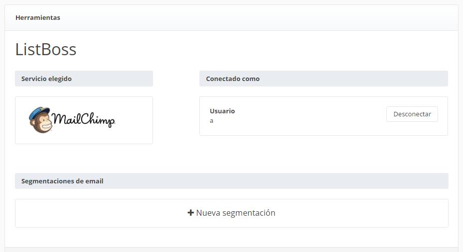 PASO A PASO para realizar la integración de ListBoss