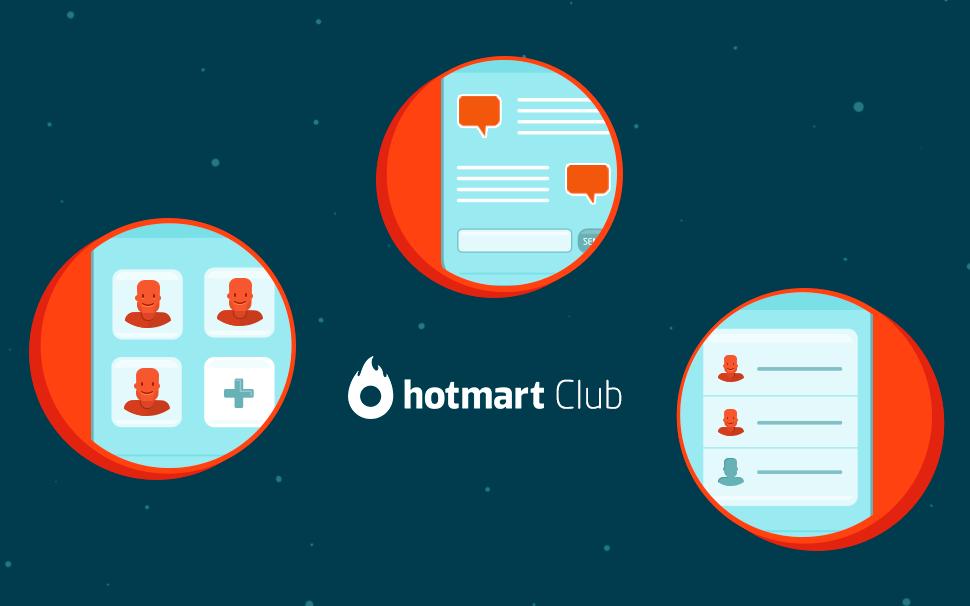 Imagem do post de novidades do Club, no Blog Hotmart