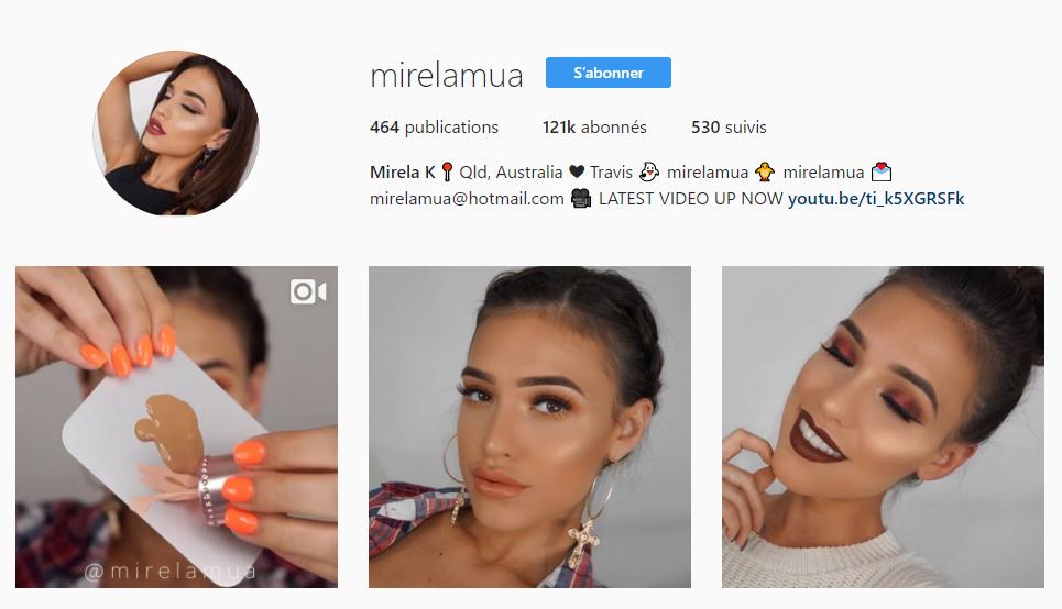 Instagram de Mirelamua