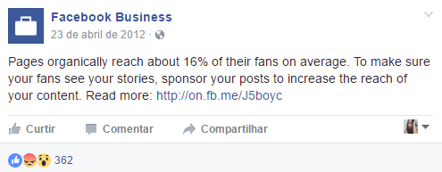 تناقص معدل وصول الإعلانات على فيسبوك عضوياً