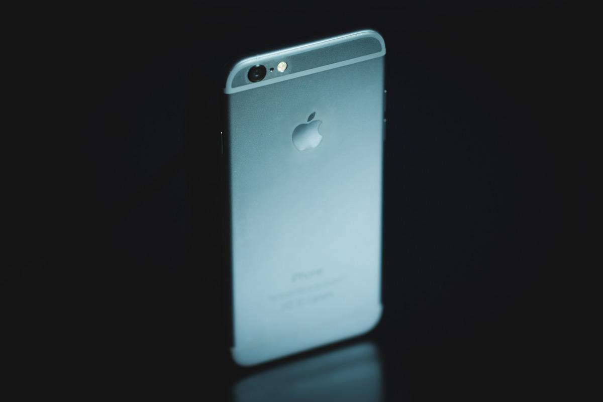 foto de um smartphone