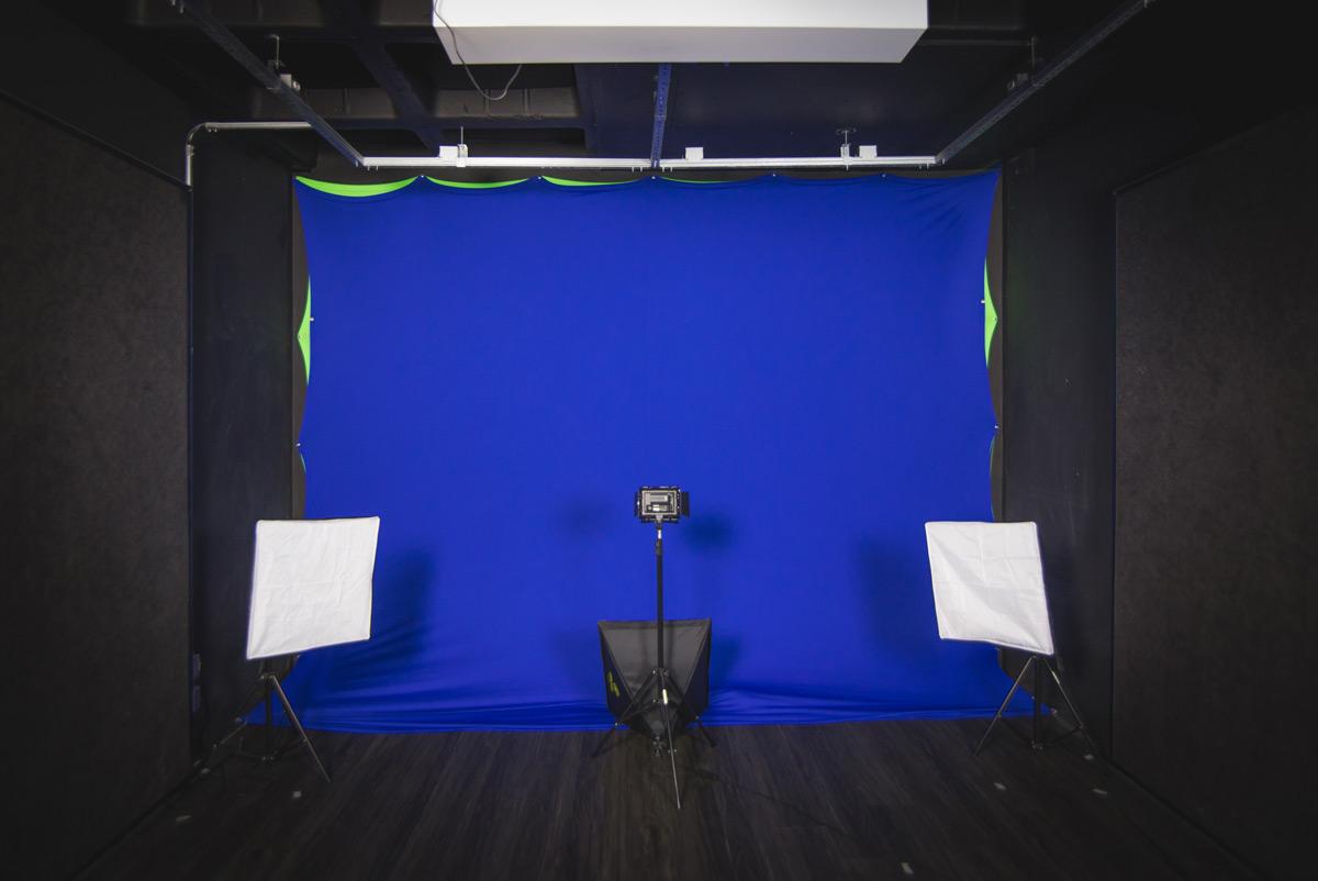 imagem de um estúdio que pode ser montado para criar cursos online em vídeo