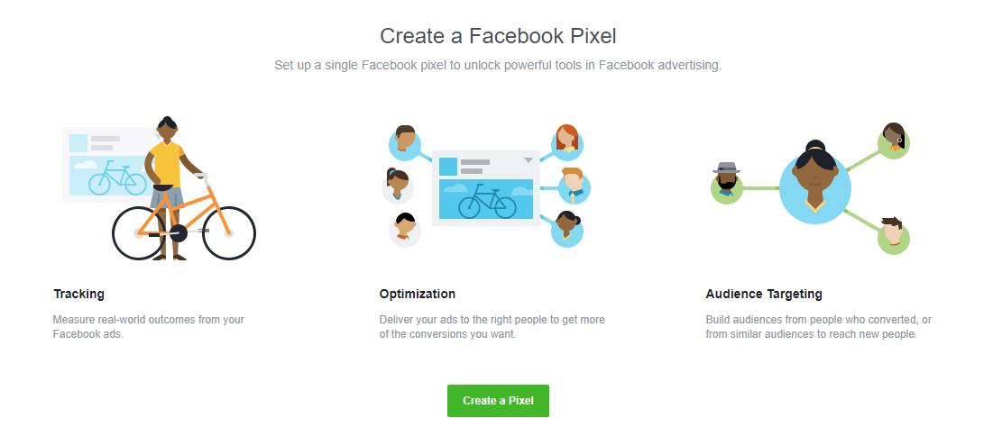 Select create a pixel