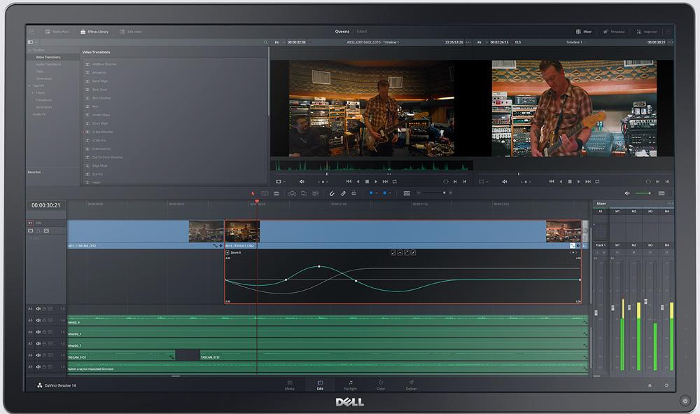 Logiciel de montage vidéo - DaVinci Resolve