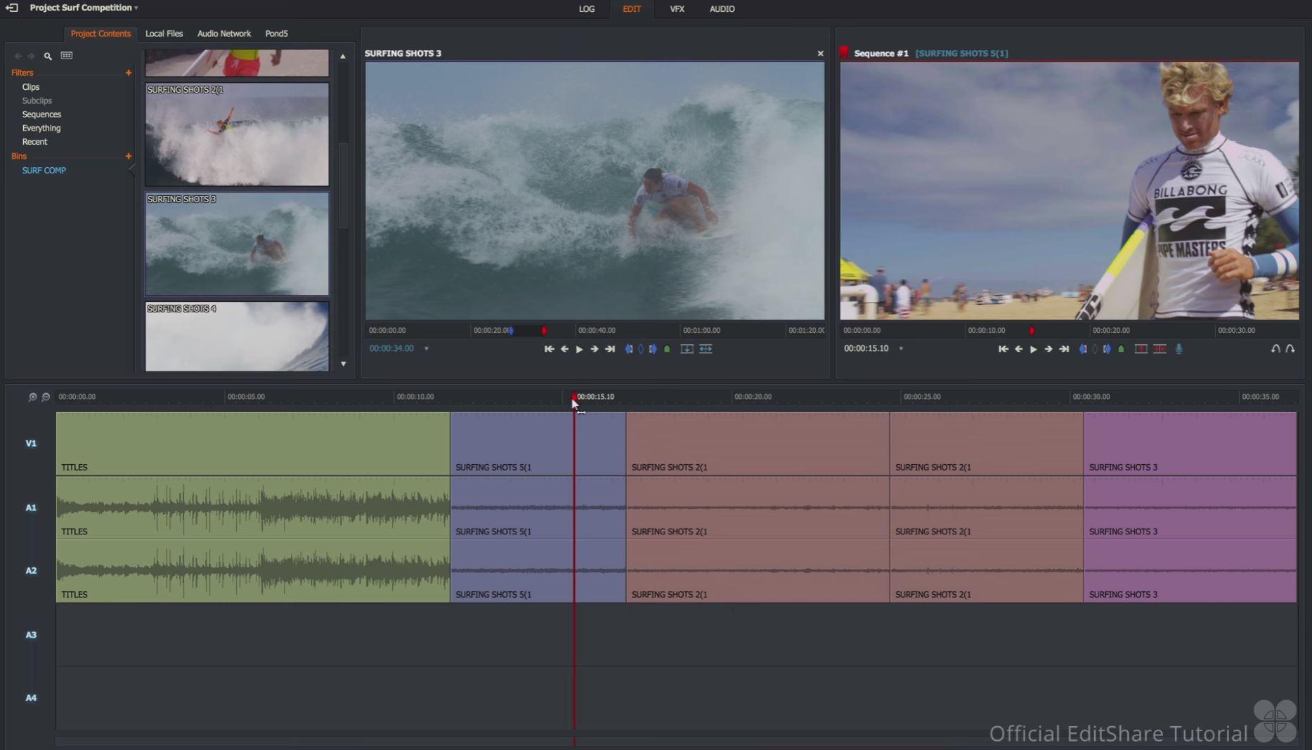 Logiciel de montage vidéo - Lightworks