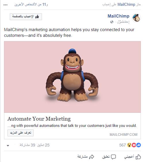 أهمية استخدام الصور المقنعة في الإعلانات الممولة على فيسبوك